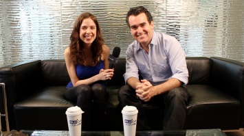 Me interviewing Brian D'Arcy James